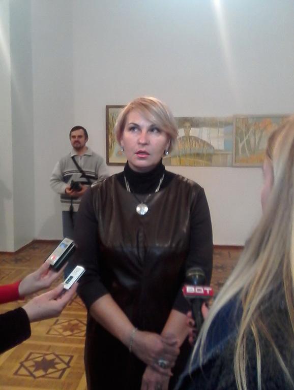 У краєзнавчому музеї триває виставка вінницької художниці Світлани Телець, фото-2