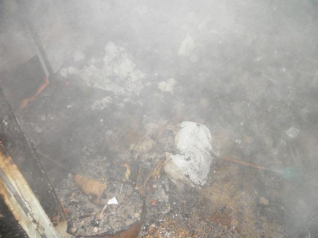 На Вінниччині загорівся продуктовий магазин