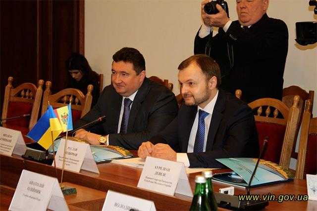 До Вінниці завітав посол Ресбуліки Молдова Руслан Болбочан