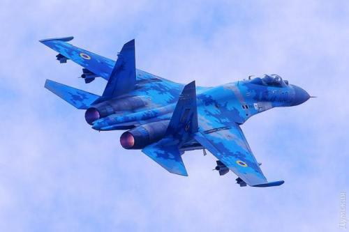 Президент присвоїв літаку Су-27 ім'я вінницького військового льотчика Василь Нікіфорова