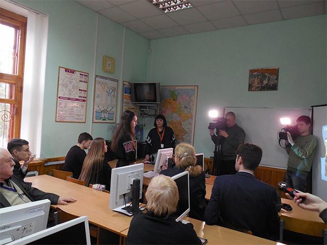 У школі-ліцеї №7 обговорювали нові шляхи співпраці з Посольством Німеччини та з Гете-Iнститутом
