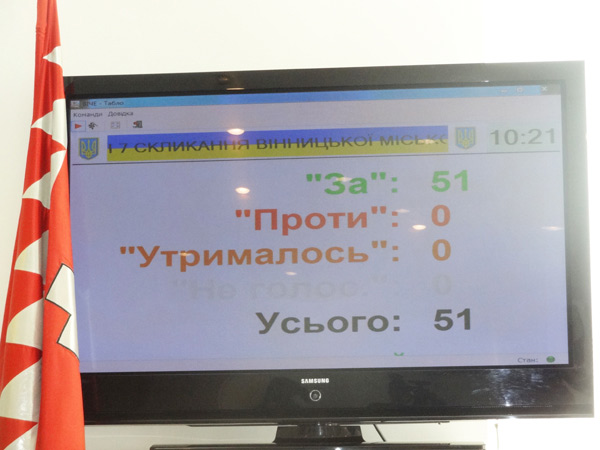 Вінницька міська рада звернулась до світу – підтримати «список Савченко»