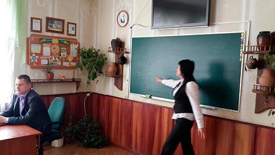 Вінницькі поліцейські розповідали школярам про шкідливість та наслідки вживання наркотиків