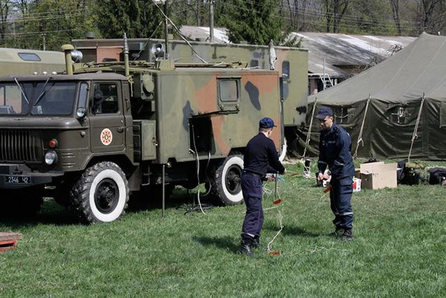 На Вінниччині перевіряли готовність рятувальників до реагування на надзвичайні ситуації