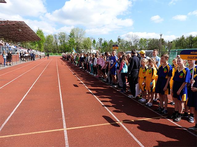 Вінницькі учні змагались за першість у змаганнях «Олімпійське лелеченя-2016»