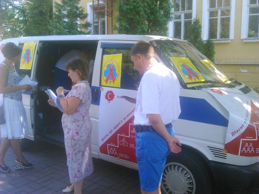 У Вінниці відбулася всеукраїнська акція «Гепатит С виліковний. Дбаємо про здоров'я по-новому!»
