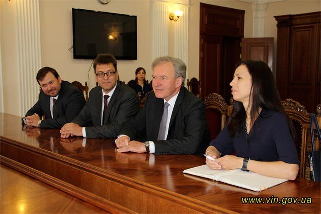 За сприяння інвесторів на Вінниччині буде запроваджено проект «АКВ Українське каолінове товариство»