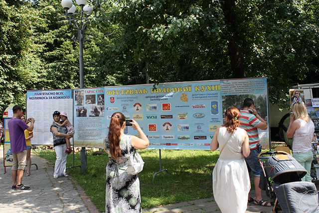 У Вінниці вже вдруге відбувся фестиваль польової кухні, присвячений Тарасу Сичу