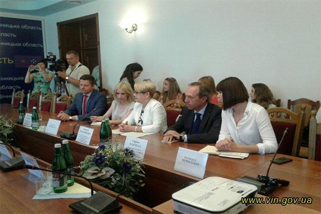 Вінниччина перейматиме досвід Італії та Польщі щодо регіонального розвитку