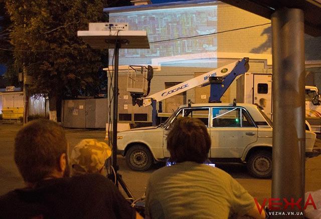 На проспекті Коцюбинського почали створювати другий мурал-арт