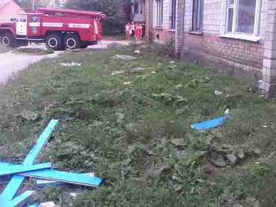 В Липовці під час ремонту в квартирі вибухнув газ. Постраждав господар квартири