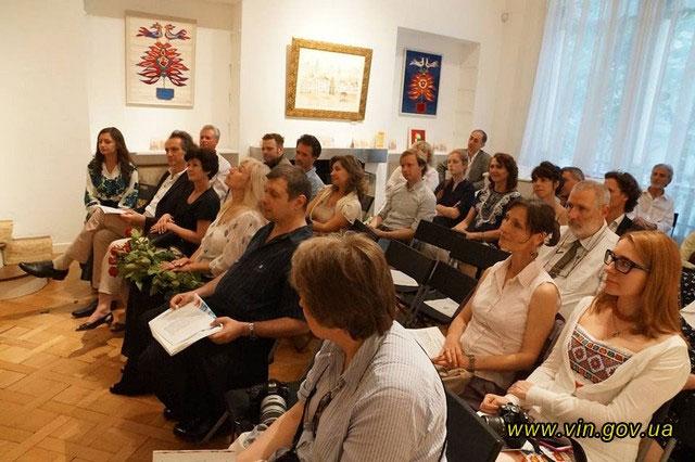 У Франції відбулась презентація мистецького проекту юного вінницього художника Анатолія Гайструка