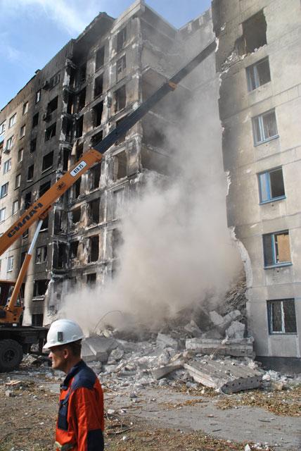 Рятувальники відновлюють інфраструктуру звільнених міст Луганщини