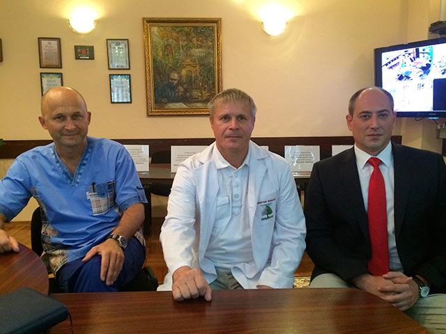 Перший в Україні майстер-клас з інтервенційної онкології провів у Вінниці відомий рентгенендоваскулярний хірург