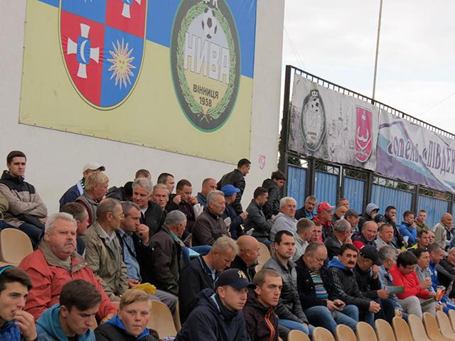 Вінницьких вболівальників футболу запрошують на чергове захоплююче подільське дербі