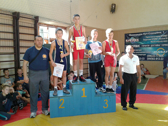 На Міжнародному турнірі з греко-римської боротьби вінничани здобули три золоті та три бронзові медалі