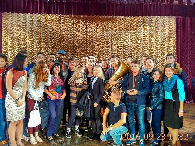 Просвітницька функція фестивалю VINNYTSIA JAZZFEST: відомі джазмени зустрілись із вінницькою молоддю