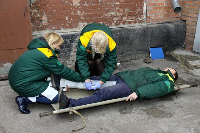На олійножировому комбінаті проводились навчання щодо попередження та ліквідації наслідків надзвичайних ситуацій