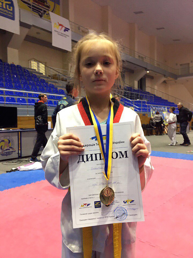 Мар'яна Богословська з Вінниці перемогла на чемпіонаті України з тхеквондо