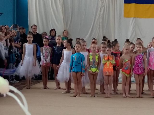 4-річна вінничанка Врабіє Злата посіла 1 місце на відкритому чемпіонаті з художньої гімнастики