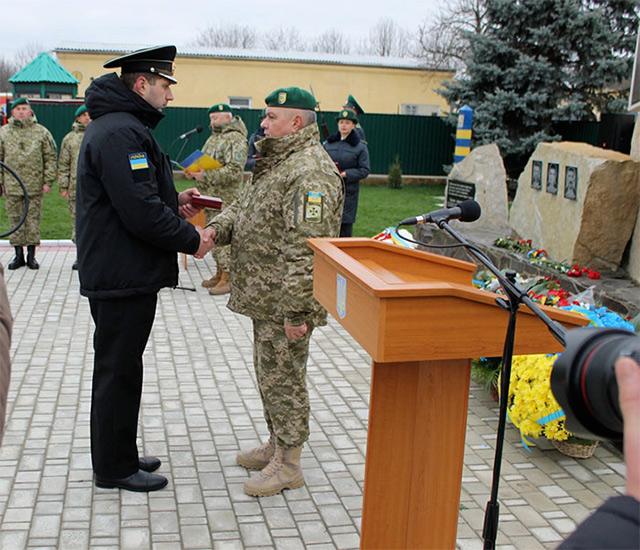 Вінницькі прикордонники отримали державні нагороди