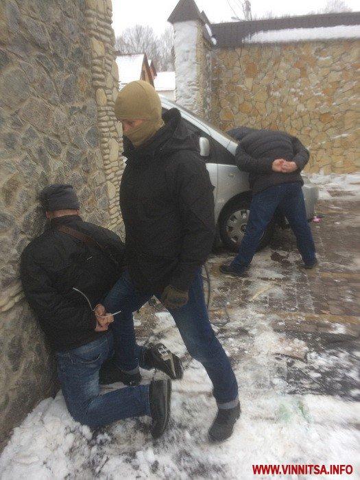 """Працівники СБУ затримали у Вінниці банду """"Самвела Московського"""""""
