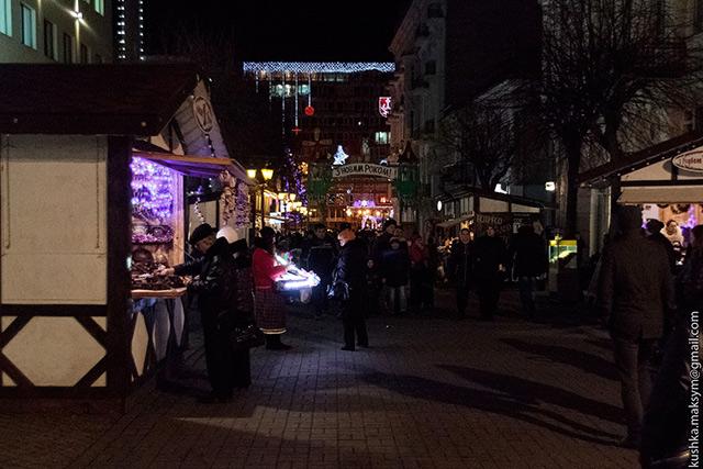 15 грудня відкриття загальноміського Різдвяного ярмарку на площі Європейській