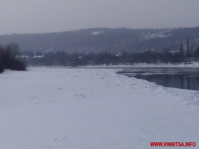 На Вінниччині  через негоду призупинено роботу двох річкових пунктів пропуску на кордоні з Молдовою