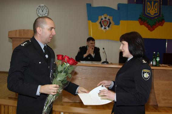 Юрій Педос представив нового помічника начальника обласної поліції