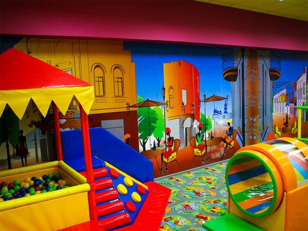 """новый зал для малышей в детском игровом кафе """"Мегамоша"""""""