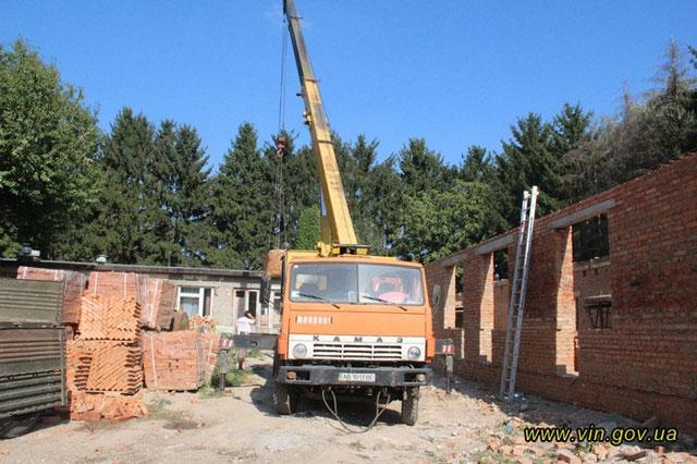 У Вінниці почали будувати Клініку для бійців із зони АТО