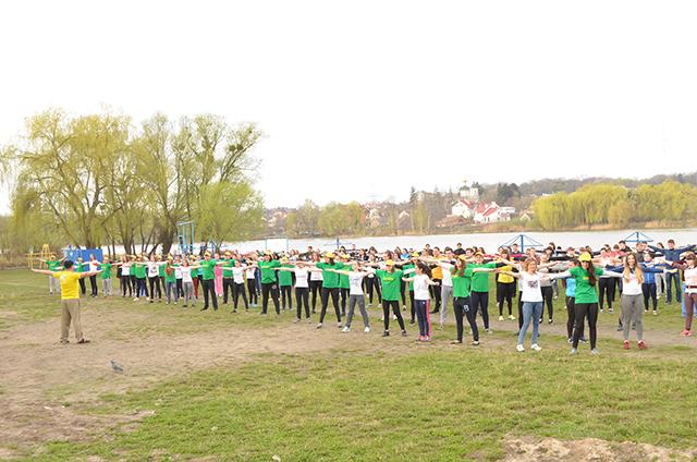 День здоров'я у Вінницькому торговельно-економічному коледжі КНТЕУ