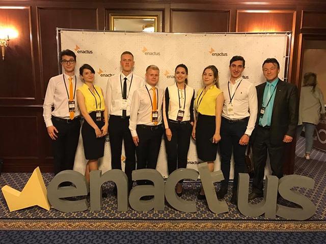 Команда ВНТУ змагатиметься за світову  перемогу на  Enactus World Cup у Лондоні