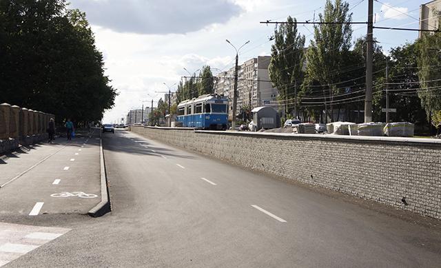 Який вигляд має перша частина проїзду Келецького після реконструкції?