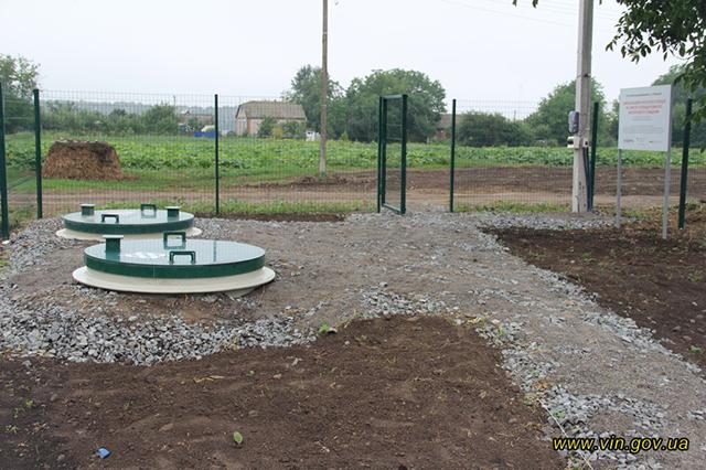 Завдяки проекту DESPRO ще в одному селі на Вінниччині з'явилась система водовідведення та станція біоочистки стоків