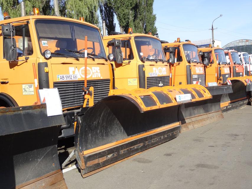 Для посипання тротуарів та доріг Вінниці вже заготовлено більше 5 тис. тон солі та 3,2 тис. тон відсіву
