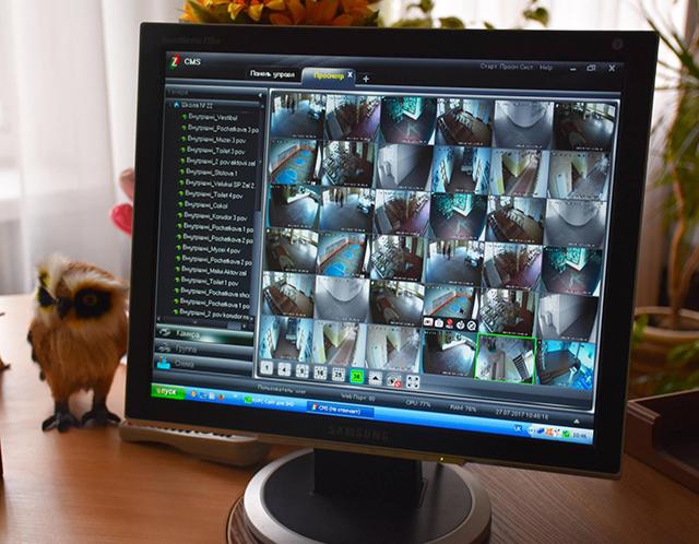 В 22-й школі на Старому місті встановили систему відеонагляду