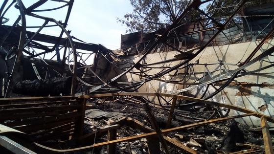 Масштабна пожежа на ринку в Томашполі: збитки сягають близько 2 млн. грн.