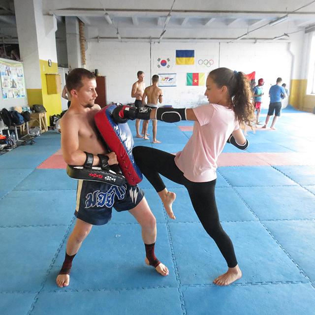 У Вінниці демобілізований АТОвець тренує молодь таїландському боксу