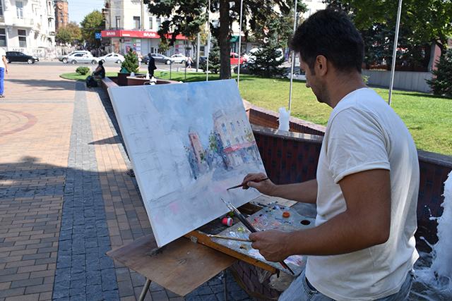 У Вінниці розпочався мистецький пленер «Кращий художник» за участю митців з різних куточків України