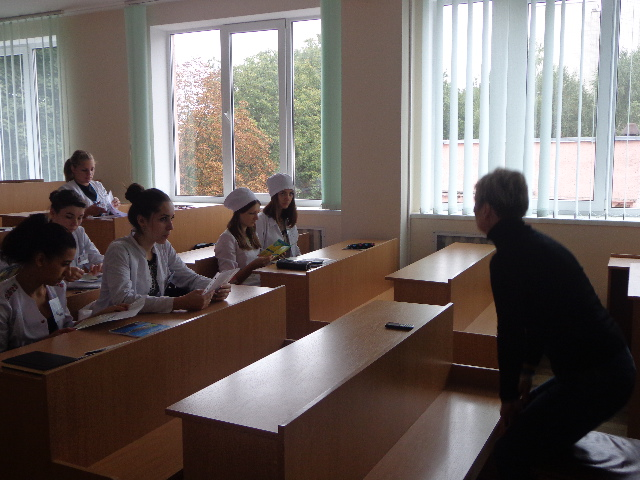 Інформаційно-просвітницькі зустрічі для студентів медичних закладів Вінниччини
