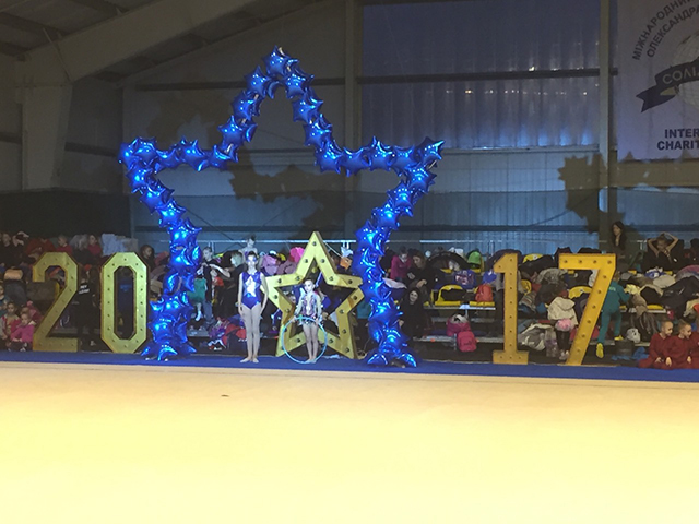 """Вінницькі гімнастки здобули """"золото"""" та """"срібло"""" на міжнародному фестивалі з гімнастики"""