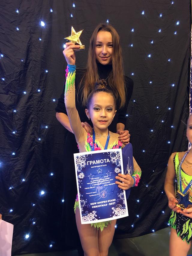 Вінницькі гімнастки здобули 19 медалей на міжнародному фестивалі з гімнастики