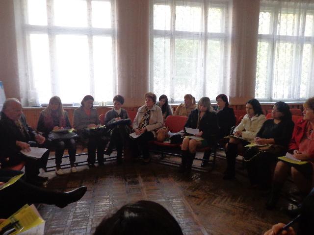 Тренінг  «Репродуктивні права людини з інвалідністю. Етика спілкування у процесі надання медичних послуг»
