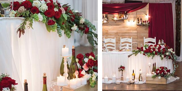 Оформление свадебного зала. Тонкости и особенности