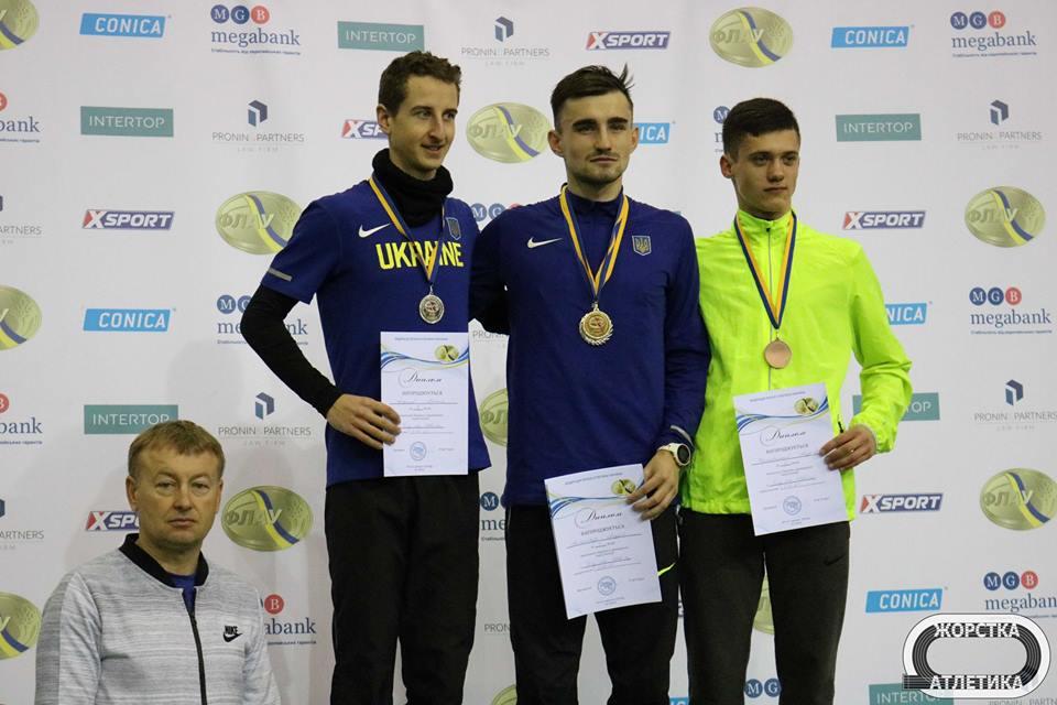Вінничани здобули три медалі на чемпіонаті України з легкої атлетики