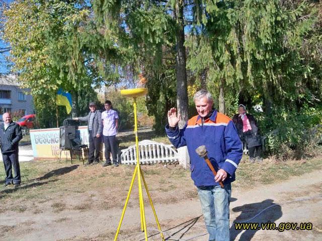 На Вінниччині продовжують газифіковувавати села