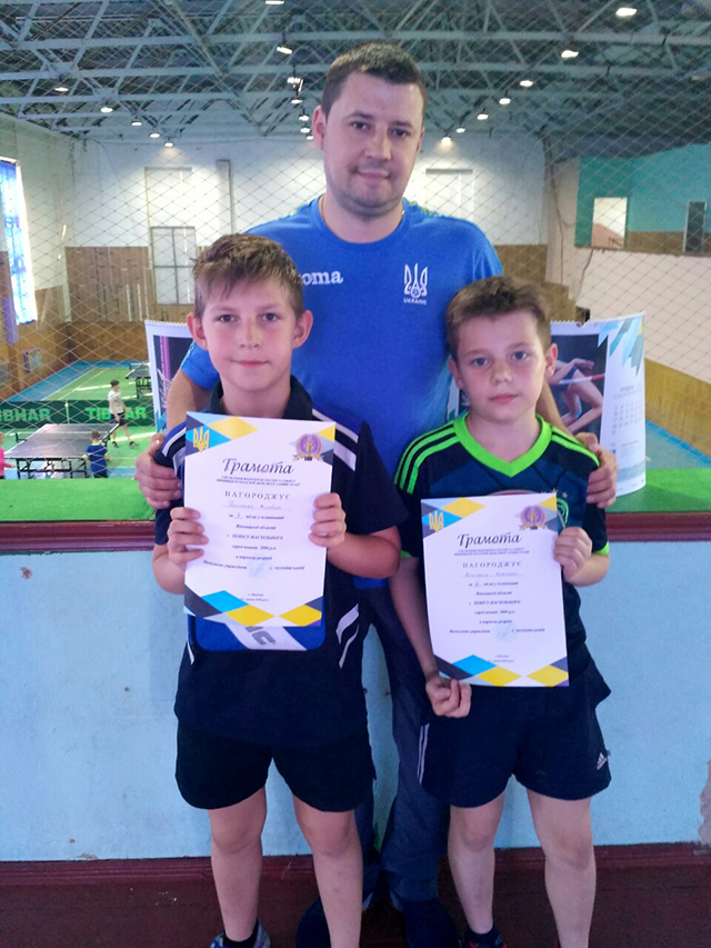 У Вінниці пройшов чемпіонат області з настільного тенісу