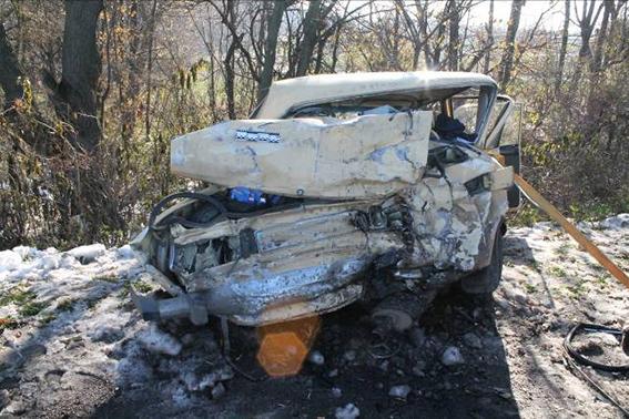 В аварії у Гайсинському районі загинув житель Умані, інших госпіталізовано