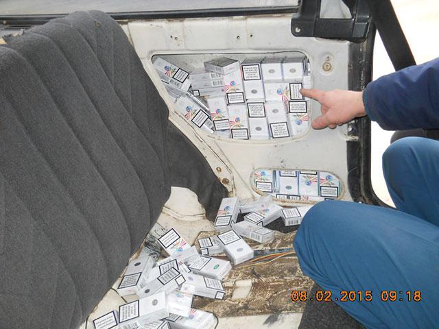 Молдованин намагався нелегально ввезти на Вінниччину майже півтисячі пачок цигарок